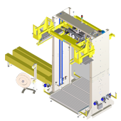 VERTICAL AUTOMATIC  STRAPPING MACHINES